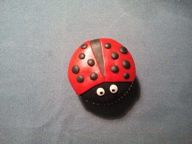 Lieveheersbeest cupcake