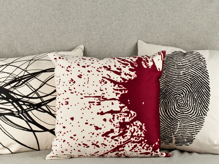 Goth Couture Embroidered Pillows   Lost City Products   AHAlife