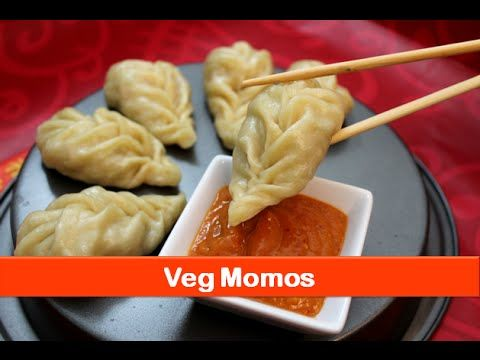 Veg momos recipe/Indian evening tea snacks recipes/easy starter dish for kids-let's be foodie - YouTube