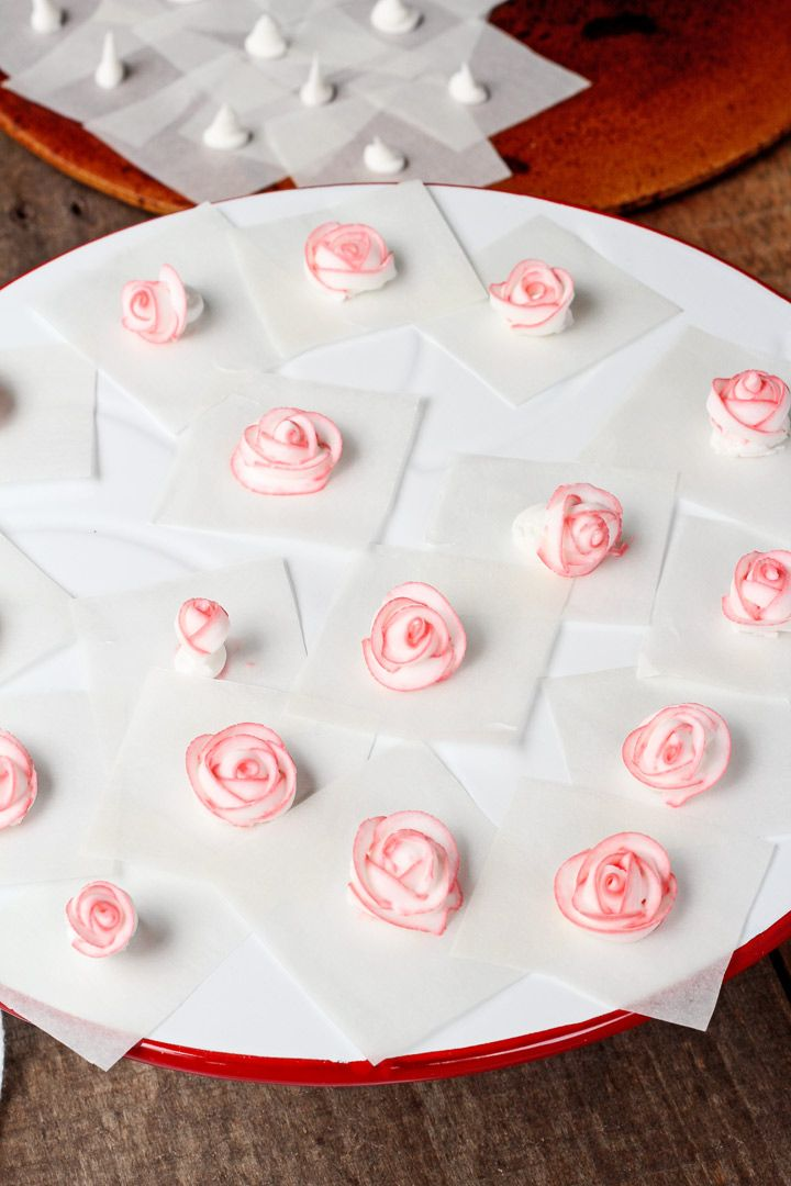 Make Royal Icing Roses ahead of time so you can use them as decorations on your sugar cookies. Store in an airtight container so they'll last for months.