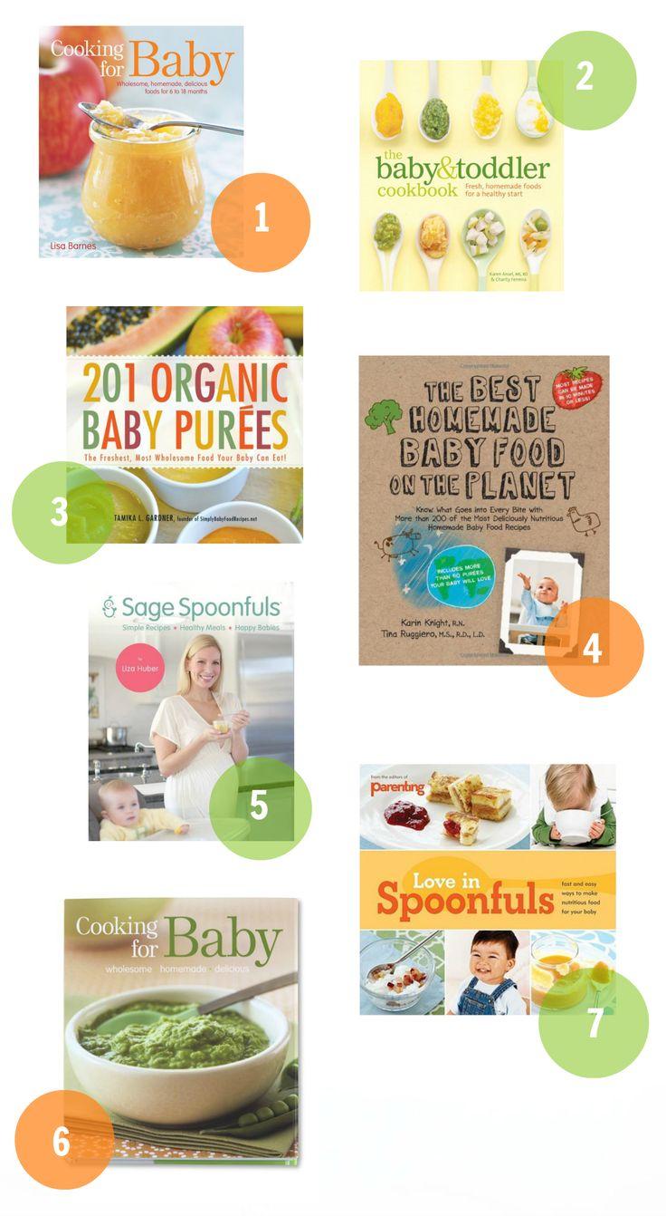 Baby Food Cookbooks