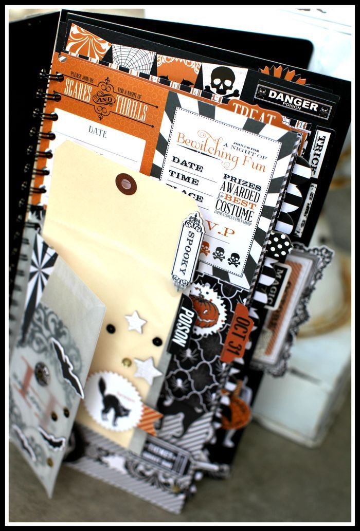 TERESA COLLINS: HEADED to SPAIN - HALLOWEEN KIT w/ BANNER for sale
