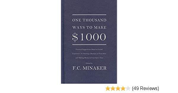 One Thousand Ways To Make 1000 Ogilvy On Advertising Print Book One Thousand