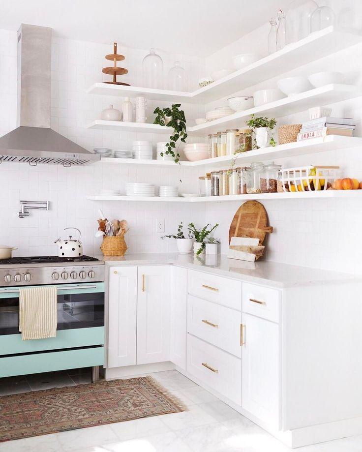 Kitchen Shelf Pinterest: Best 25+ Open Kitchen Shelving Ideas On Pinterest