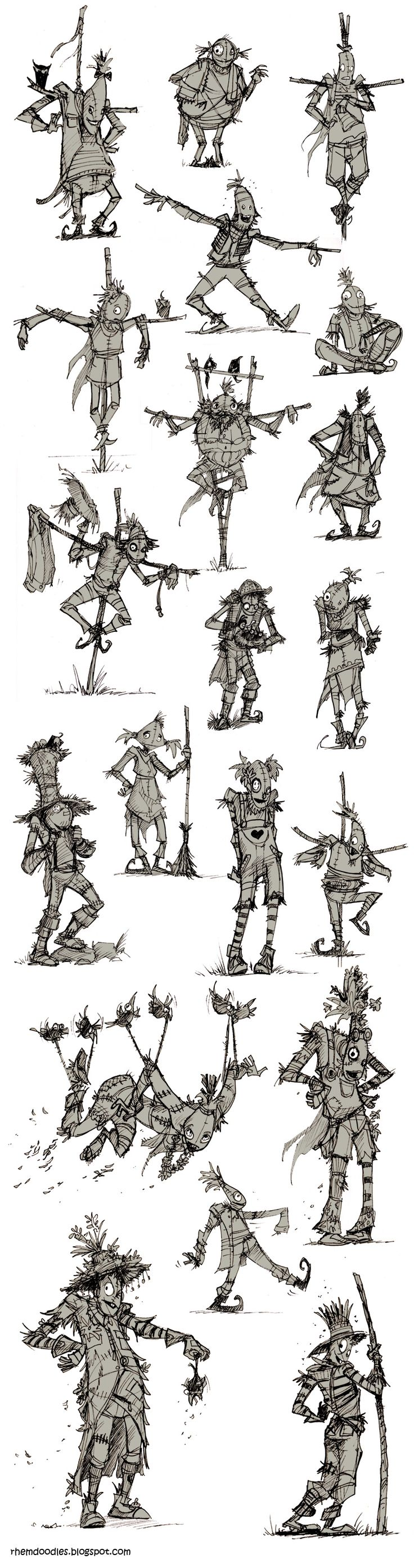 Wizard of Oz : Character Redesigns! - Digital Webbing Forums
