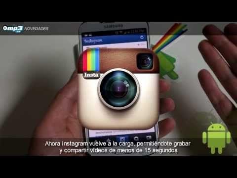 Graba y comparte vídeos con Instagram. Tan fácil como se muestra en este vídeo.  #tutoriales