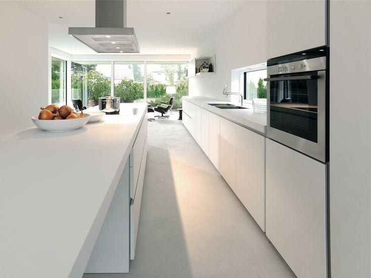25 best b1 - de witte pure keuken images on Pinterest Cooking - harmonisches minimalistisches interieur design
