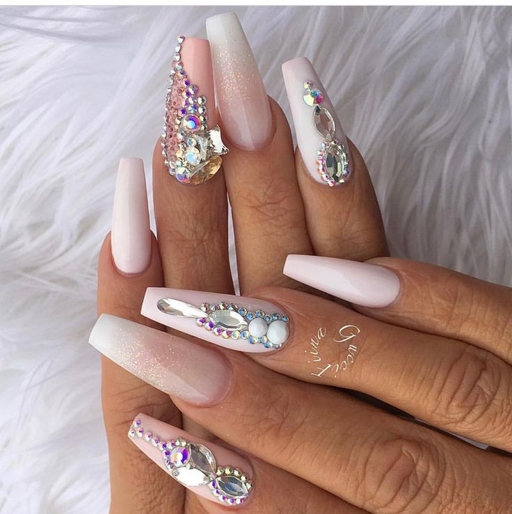 25+ best ideas about Diamond nails on Pinterest | Diamond nail ...