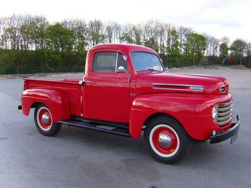 1948 F1 Stepside via Car and Classic | Ford & Ford Brands ...