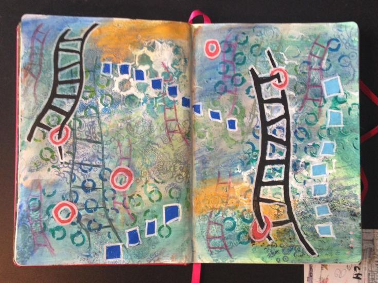Art Journal # 9 Stairway to Heaven - or Highway to Hell?