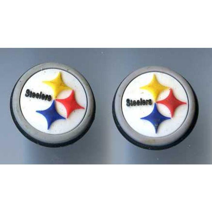 Steelers Croc Charm Set of 3