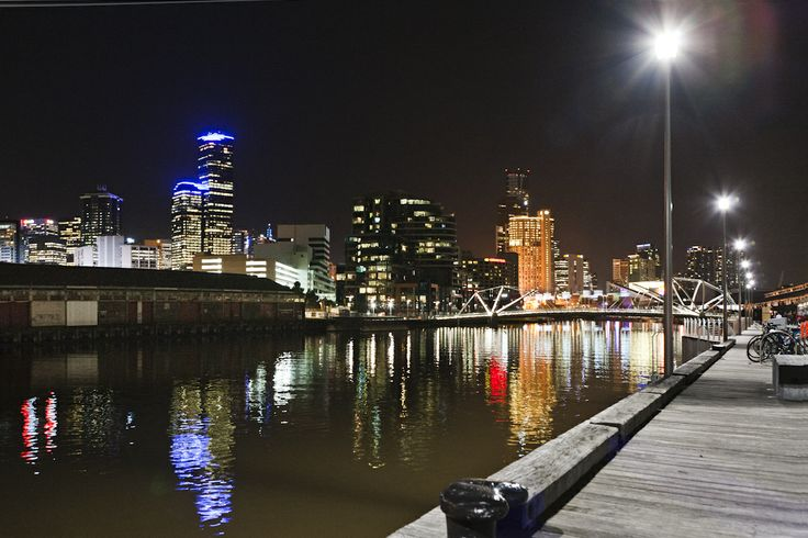 Our amazing view at Showtime Events Centre, South Wharf.
