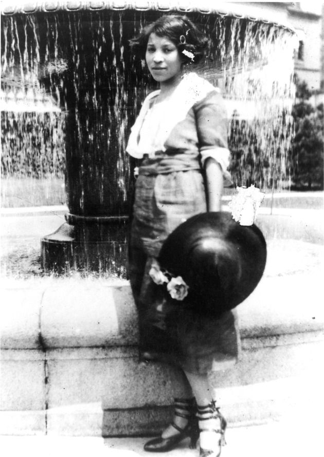 25 Zora Neale Hurston Photos And Quotes In Celebration Of Her 125th Birthday BY ERIKA W. SMITH,JANUARY 07, 2016. image - Zora Neale Hurston as a student at Howard University, c. 1919-1923