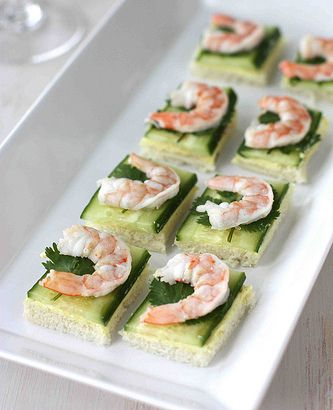 9 best images about canapes recipes on pinterest cream for Simple canape appetizer