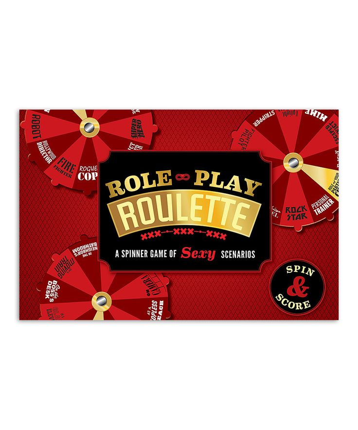 Love this Role Play Roulette Game by Chronicle Books on #zulily! #zulilyfinds