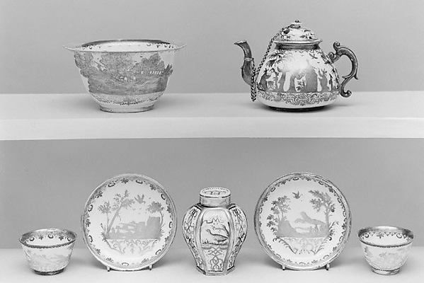 Чайница с крышкой Мейсенская  мануфактура
