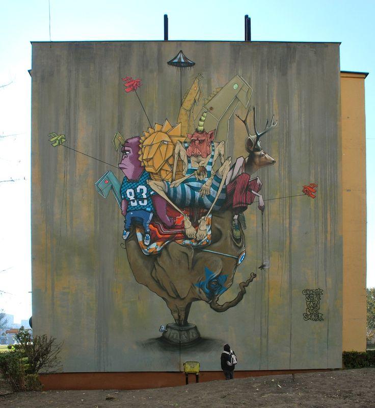 In Bydgoszcz, Poland. By Sepe, Sainer, Mr.Pain, Chazme, Bezt & Stumilowy Las.