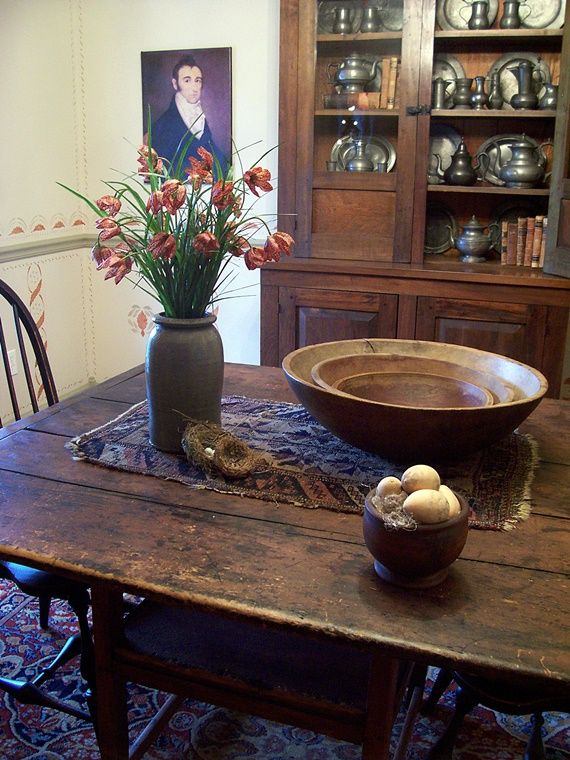 Best 25 Primitive Dining Rooms Ideas On Pinterest
