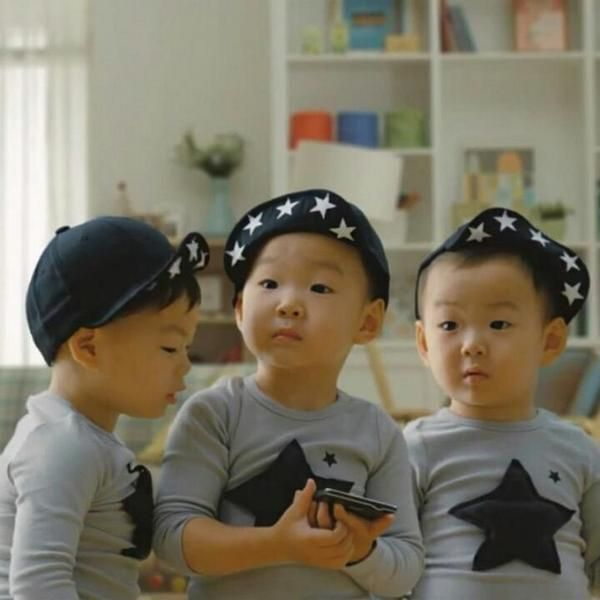 Lovely boys #DaehanMingukManse in Samsung CF  #SongTriplets #SupermanReturns #SupermanIsBack #Daehan #Minguk #Manse