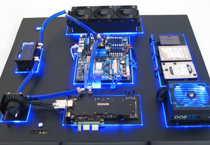 Water-Cooled PC