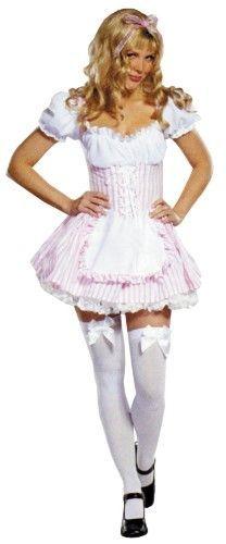 Candy Striper Large, White