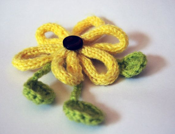 French Knitting Flowers : Best french knitting images on pinterest crocheted