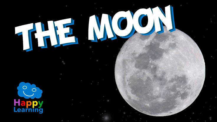 The Moon for Kids - Learning the Moon | Educational Video for Children - YouTube