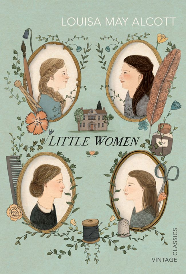 Little Women. Bookcovers - About Today - Illustration by Lizzy Stewart