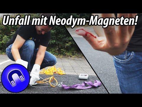 So gefährlich sind Neodym-Magnete - YouTube