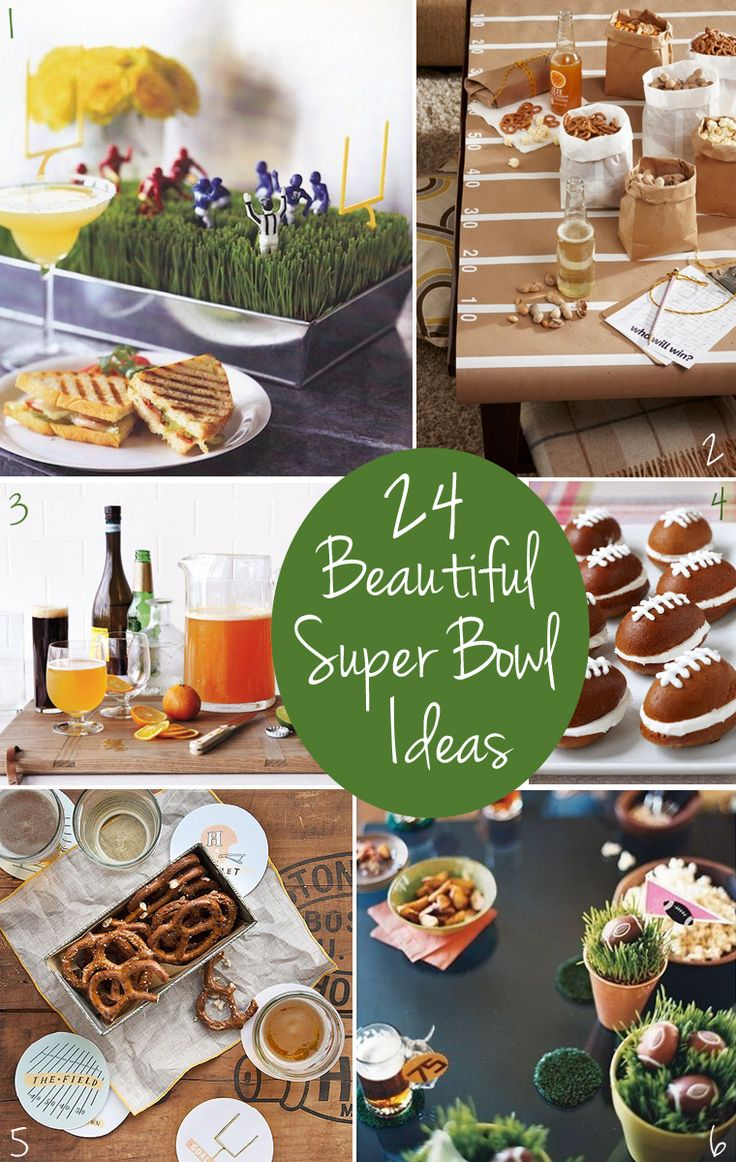 Dinner Party Ideas For 4 Part - 44: 24 Beautiful Super Bowl Party Ideas U0026 Recipes