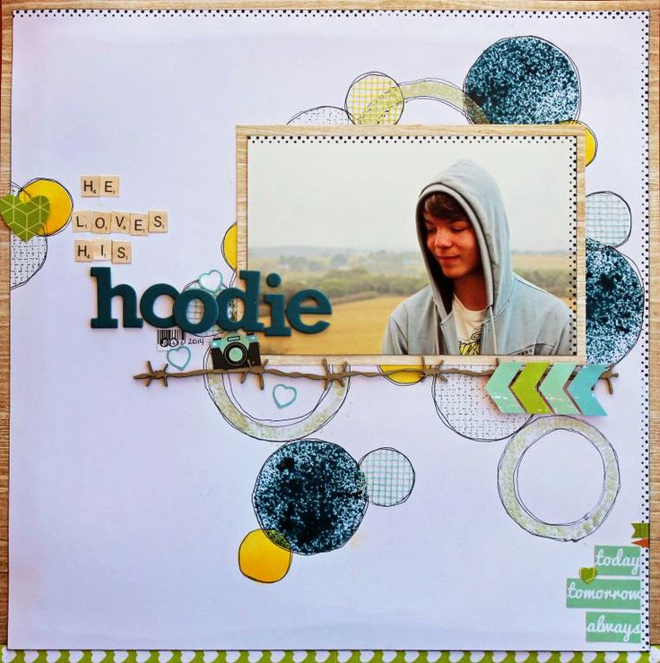 #papercraft #scrapbook #layout.  Scrappy Chat Designs - Design Team Member - Heather McMahon using the Picture Perfect Today Kit. http://scrappychatdesigns.blogspot.com.au/2014/04/its-all-about-techniques.html