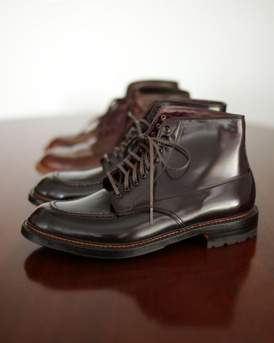 Alden Indy Boots in Color 8