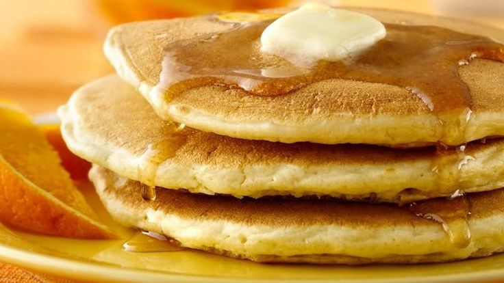 On Sunday mornings, my mom would have our big griddle on early.  She would make us Bisquick pancakes with bacon.  I remember waking up to the smell.  They are still some of the best pancakes around.