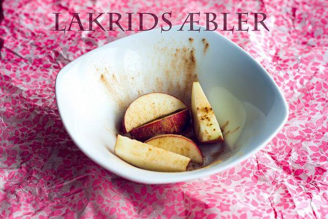 Mad på 4 sal: Lakrids æbler