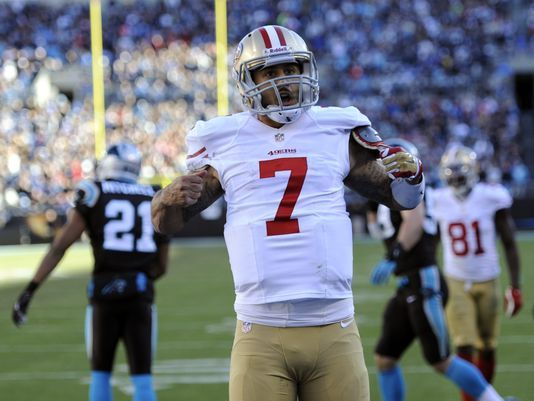 Colin Kaepernick believes contract is an all-around win
