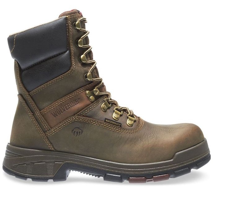 "Wolverine Men's Cabor EPX Waterproof Composite Toe 8"" Work Boots - HeadWest Outfitters"