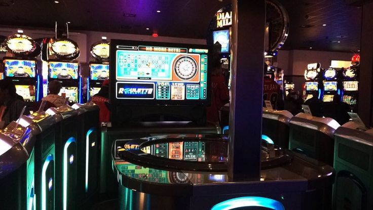 Whenever I See One Of These Roulette Evolution Machines, It Makes Me Think Back To When I 1st Saw Them Back In 2010 & Gotten Used To Going In A Casino. #october #2016 #roulette #rouletteevolution #casino #machine #game