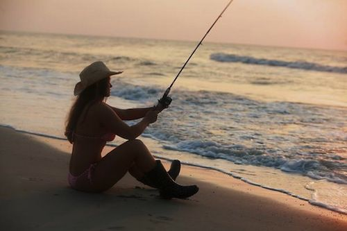 1000 images about surf fishing on pinterest sexy surf for Fish for girls