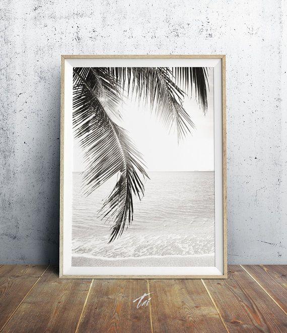Impresión de árbol de Palma playa decoración hojas de por TaiPrints