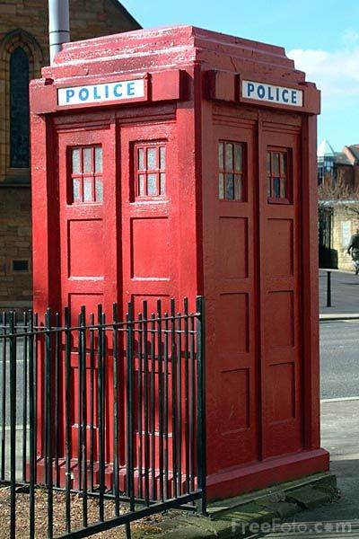 Police Box in Glasgow.  My Dad would have used this when he was a constable in the Glasgow Police back in the 1960's.