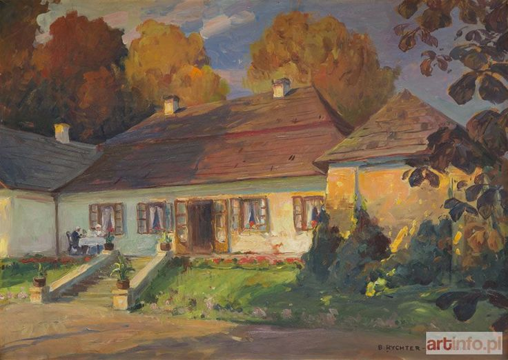 Bronisława RYCHTER-JANOWSKA ● Przed dworkiem ●