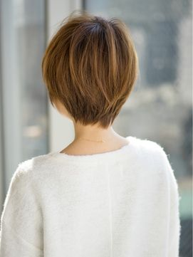 アフロート ジャパン AFLOAT JAPAN 【真木よう子さん風】浮遊感のある小顔愛されショートヘア