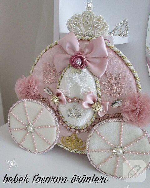 balkabağı arabalı pembe kız bebek anı defteri ,çinde özel sayfaları da bulunan gösterişli bir model. kız ve erkek bebek hediyelikler, el yapımı bebek odası süsleri...