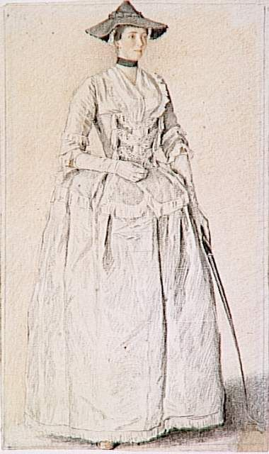 Women's Riding Outfits in the Early 18th Century