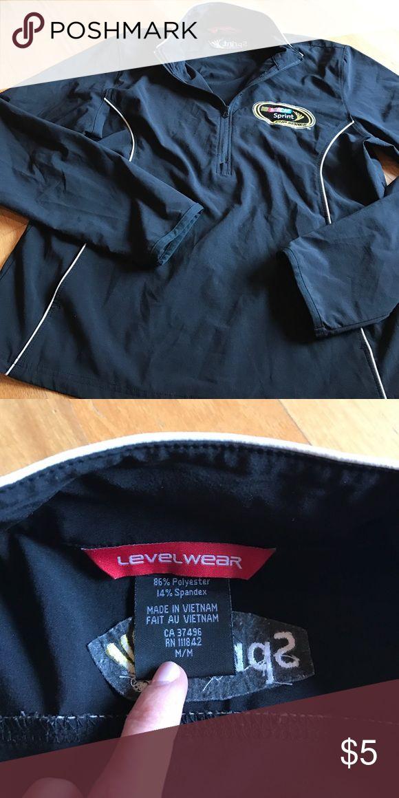Level wear lightweight NASCAR jacket light jacket with NASCAR Sprint Cup Series logo size M levelwear Jackets & Coats Utility Jackets