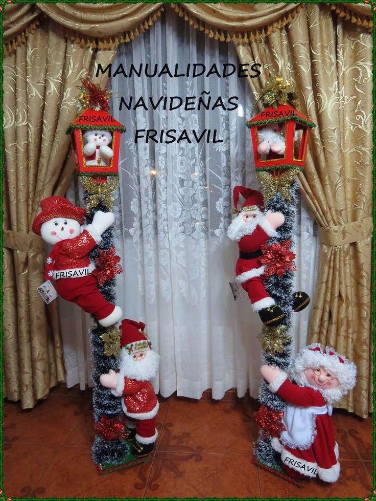 faroles navideños frisavil