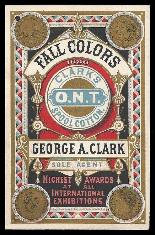 George A. Clark / Fall Colors   Sheaff : ephemera
