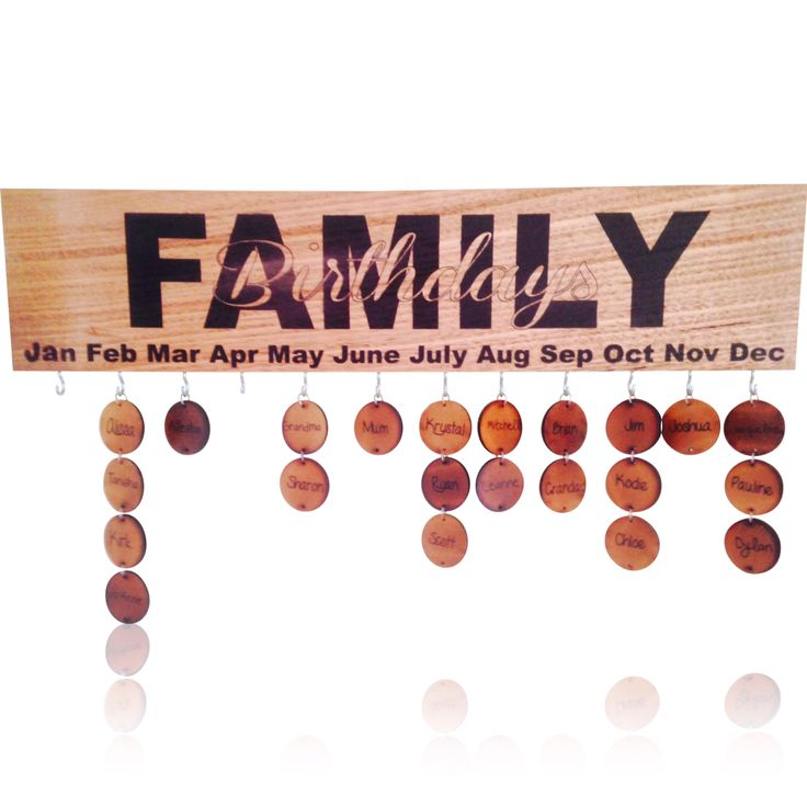Family Birthday boards   Check out PERSONALISE THIS on Facebook