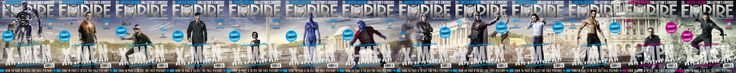 Empire Magazine 25 DOFP Covers! Sequence (Work in Progress)