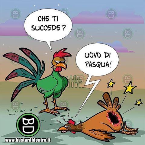 BUONA PASQUA! #bastardidentro #buonapasqua #pasqua www.bastardidentro.it